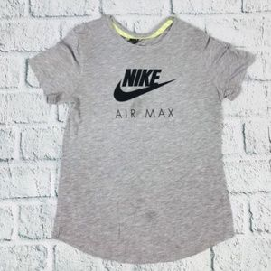 Nike Womens Airmax Running Cap Sleeve Shirt J113